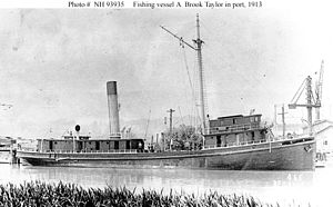 USS A. Brook Taylor (SP-326) - Image: Fishing vessel A. Brook Taylor