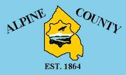 Flag of Alpine County, California.png