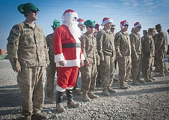 Public affairs (military) - Image: Flickr DVIDSHUB Christmas in Regional Command East (Image 2 of 3)