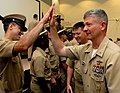 Flickr - Official U.S. Navy Imagery - MCPON high fives new chiefs..jpg
