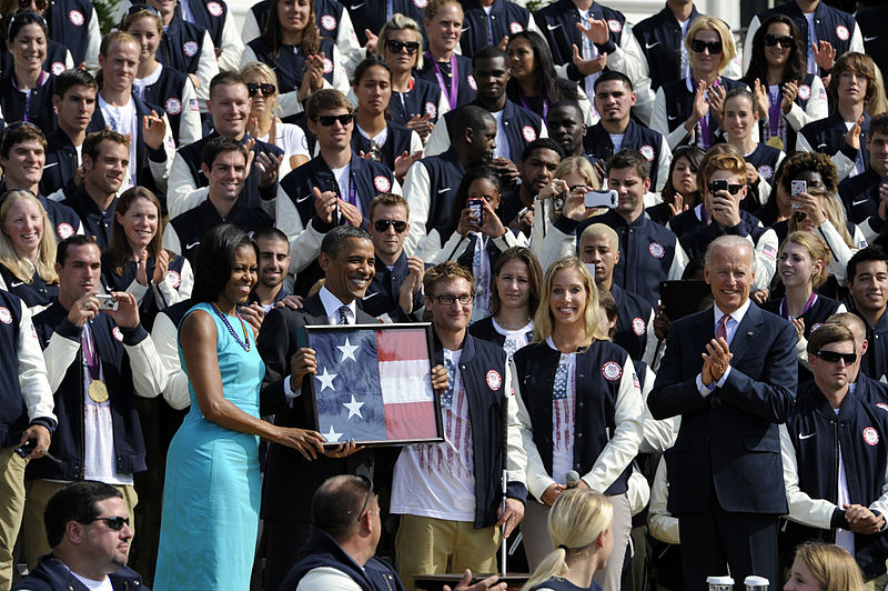 File:Flickr - Official U.S. Navy Imagery - President stands with Paralympians..jpg