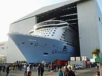 Quantum of the Seas - WikipediaQuantum Of The Seas Float Out