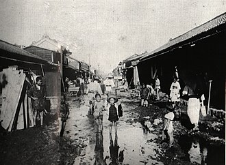 Kōfu - 1907 Kofu Flood