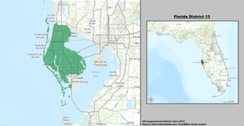 Florida's 13th congressional district - since January 3, 2013.