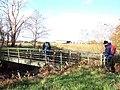 Footbridge near Roe bridge - geograph.org.uk - 1041183.jpg
