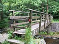 Footbridge over the River Brock - geograph.org.uk - 1400010.jpg