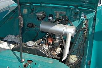 Ford Sidevalve engine - Image: Ford 12M BW 2011 09 03 13 47 06