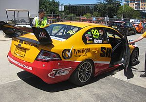 Chaz Mostert - The MW Motorsport Ford FG Falcon in which Chaz Mostert won the Adelaide round of the 2013 Dunlop Series