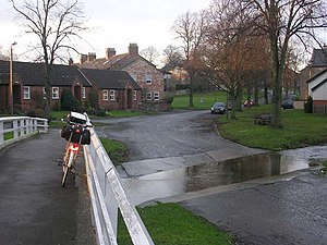 Barton, North Yorkshire - Image: Ford at Barton, near Darlington