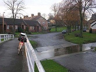 Barton, North Yorkshire - Image: Ford at Barton, near Darlington