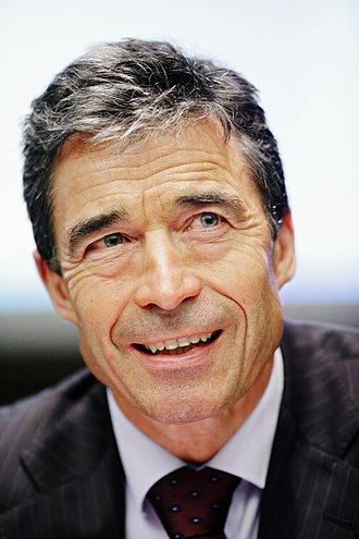 Prime Minister of Denmark - Image: Former Danish Prime Minister Anders Fogh Rasmussen at the Nordic Council Session in Helsinki 2008 10 28