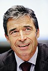 Former Danish Prime Minister Anders Fogh Rasmussen at the Nordic Council Session in Helsinki 2008-10-28.jpg