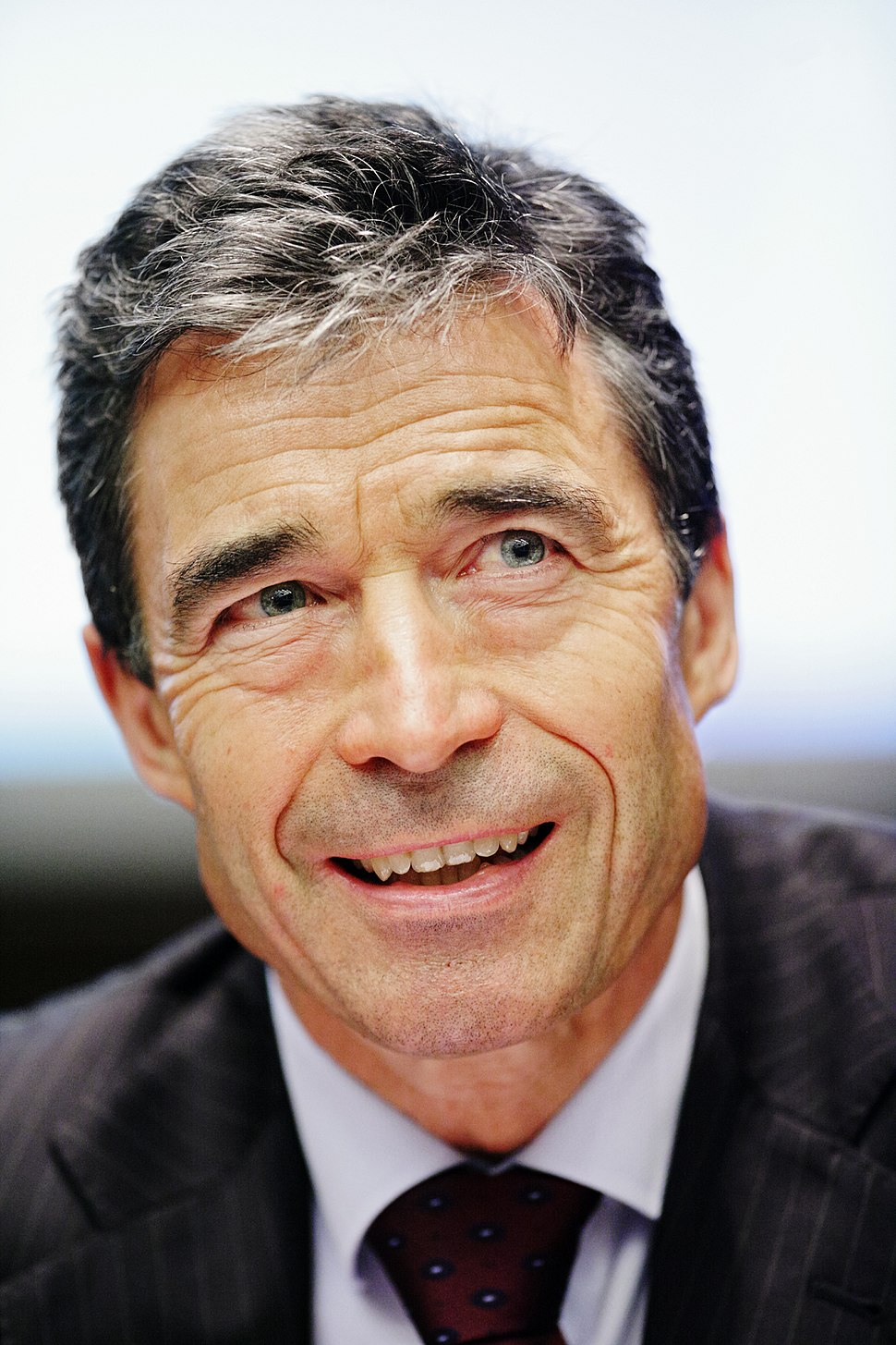 Former Danish Prime Minister Anders Fogh Rasmussen at the Nordic Council Session in Helsinki 2008-10-28