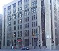 Former Montreal Gazette Building & Chrysler Sebring Sedan -- Rear.jpg