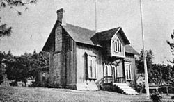 Fort Dalles Surgeons Quarters historic.jpg