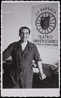 Federico García Lorca Spanish poet, dramatist and theatre director