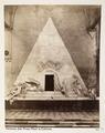 Fotografi på Canovas gravmonument, Venedig - Hallwylska museet - 107361.tif