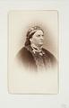 Fotografiporträtt på Amalie Hohenester, alternativmedicinsk doktor - Hallwylska museet - 107731.tif