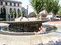 Fountain, downtown Asheville, NC IMG 5204.JPG