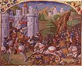 Français 2629, fol. 240, Fuite de Dirghâm à Péluse.jpeg