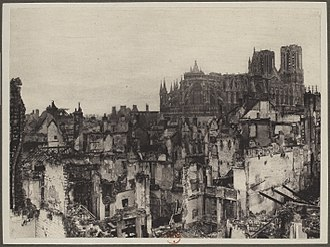 Reims - Reims in 1916
