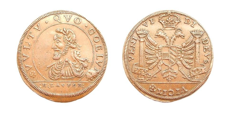 France Nuremberg King Henri IV jeton Hans Laufer