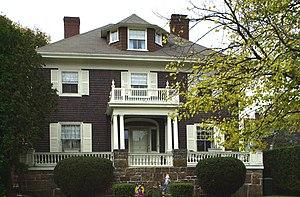 Frank W. Crane House - Image: Frank W. Crane House Quincy MA
