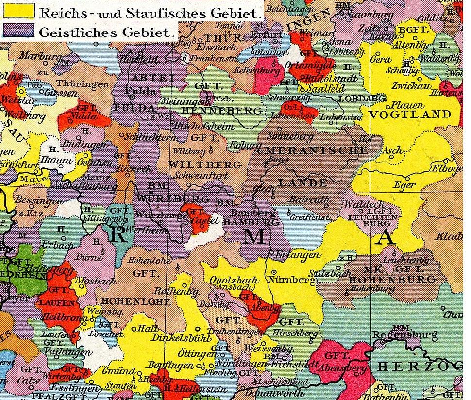 Franken um 1250