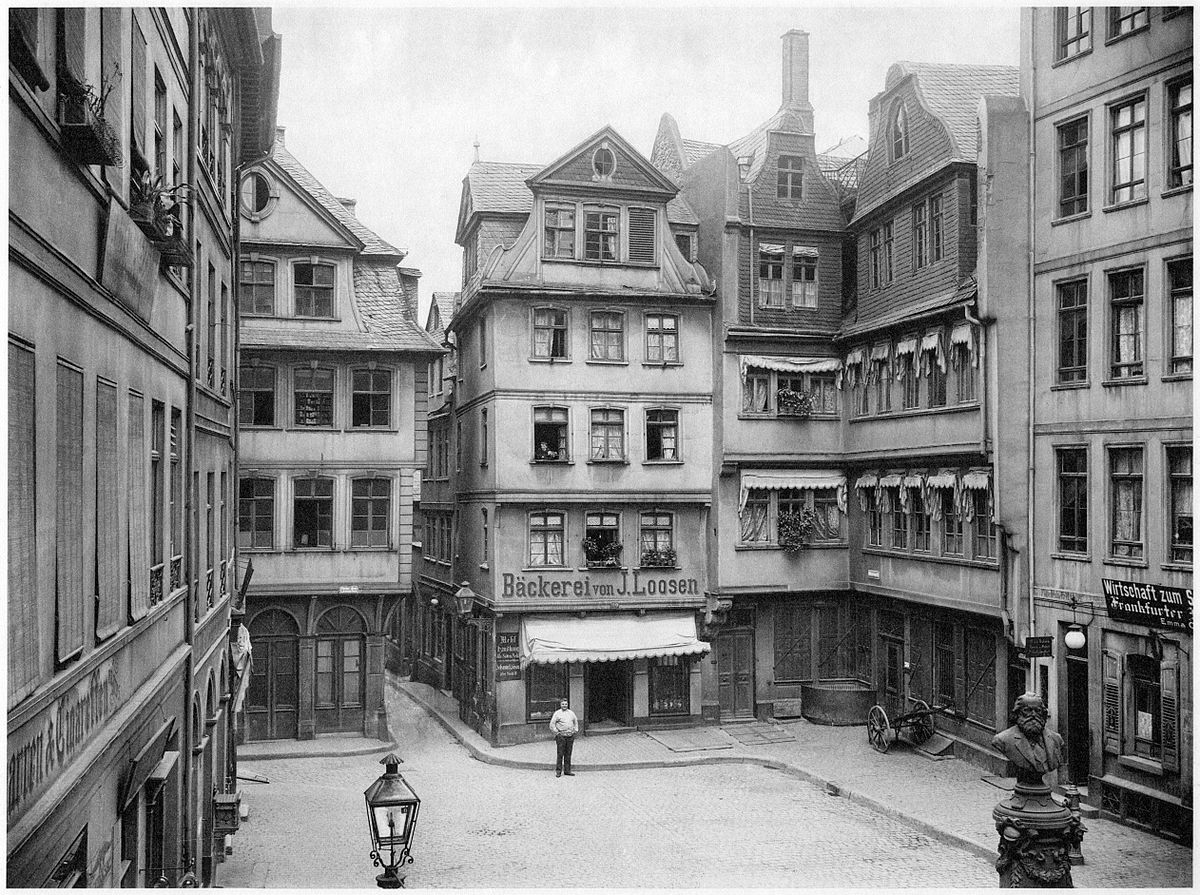 H hnermarkt wikipedia for Innenarchitekt frankfurt am main