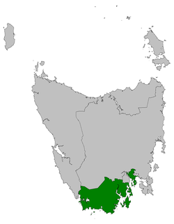 Franklin electorate 2009.png