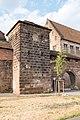 Frauentormauer 21, Mauerturm Rotes D Nürnberg 20180723 002.jpg