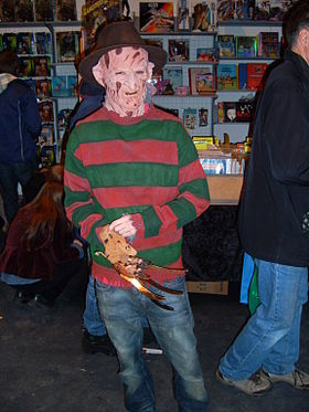 Cosplay de Freddy Krueger.