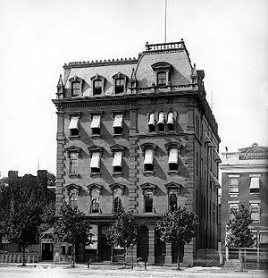 Freedman's Savings Bank - Freedman's Savings Bank on Pennsylvania Avenue in Washington, D.C.