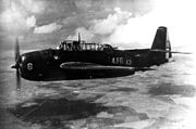 French TBM-3E of Flotille 4F in flight 1950s