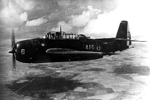 Flottille 4F - A TBM-3E in the 1950s