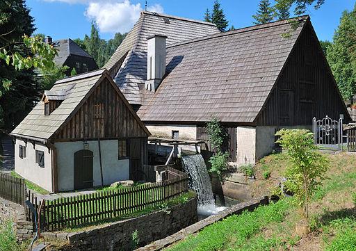 Frohnauer Hammer, Weltkulturerbe Montanregion Erzgebirge in Sachsen