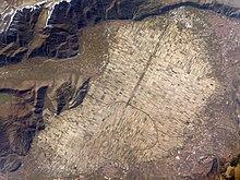 Piana del Fucino in una foto Earth observatory della NASA