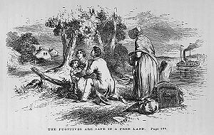 relationship between fugitive slave act uncle toms cabin and the underground railroad