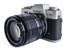 Fujifilm X-T20 with XF18-55mm F2.8-4 R LM OIS lens