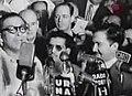 Fulgencio Batista, Coup d'état Camp Columbia Press Conference, 10-Mar-1952. Havana, Cuba.jpg