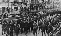 Fra begravelsen 30. november 1940