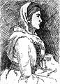 Géorgienne. Grove, Florence Craufurd. Le Caucase. 1899. P.8.jpg