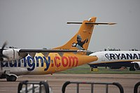 G-COBO - AT75 - Aurigny Air Services