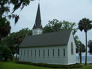 St. Mary's Episcopal Church (Green Cove Springs, Florida) - Image: GCS FL HD St. Mary's Church 01