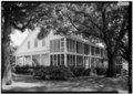 GENERAL VIEW OF BUILDING, FACING SOUTH - U.S. Naval Air Station, Quarters No. 35, Pensacola, Escambia County, FL HABS FLA,17-PENSA,77-1.tif