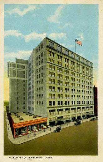 G. Fox & Co. - Image: G Fox store Hartford
