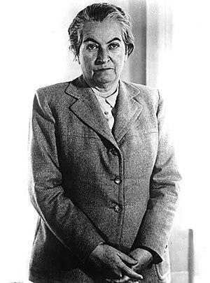 Gabriela Mistral - Gabriela during the 1950s.