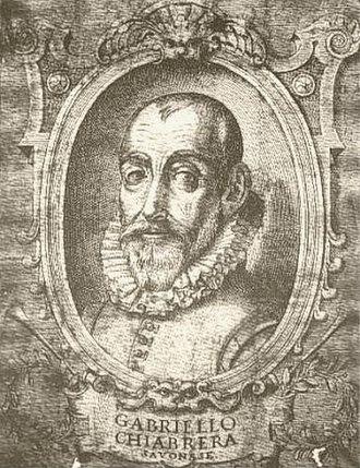 Gabriello Chiabrera - Gabriello Chiabrera