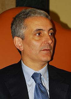 Italian politician and historian