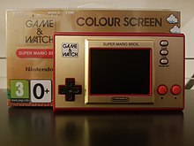 Console portable Game & Watch de Nintendo.